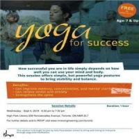 Yoga for Success - a Free Isha Yoga Session on Sep 4, 2019 in Toronto