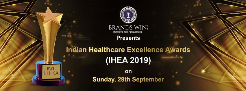INDIAN HEALTHCARE EXCELLENCE AWARDS 2019, New Delhi, Delhi, India