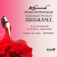 Khwaaish Dushera Special Exhibition at Hyderabad - BookMyStall