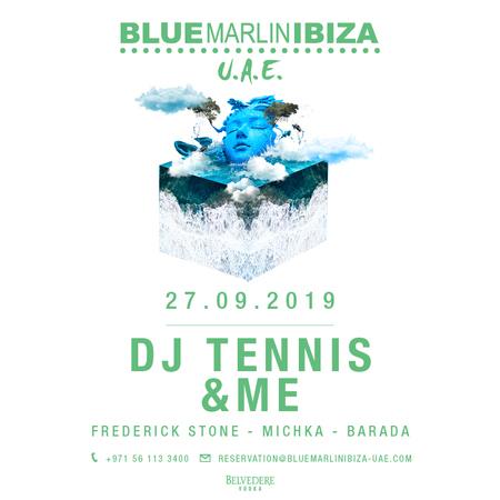 DJ Tennis and andME at Blue Marlin Ibiza UAE, Ghantoot, Abu Dhabi, United Arab Emirates