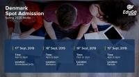 Denmark Spot Admission - Spring 2020 Intake