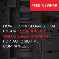 How technology ensure scalability and steady growth for automotive company