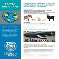 High Holy Days Family Programs @ Congregation Mishkan Tefila