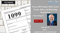 Form 1099 Update 2019: Latest Forms, Rules and Reporting Regulations