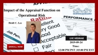 Impact of the Appraisal Function on Operational Risk