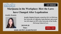 Marijuana in the Workplace: How the Laws have Changed After Legalization