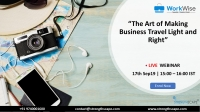 [Webinar] The Art of Making Business Travel Light and Right