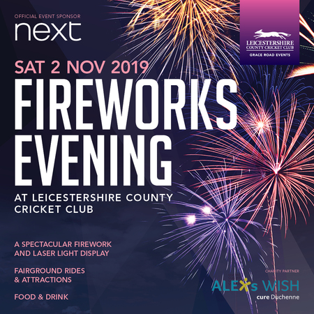 Fireworks Evening at LCCC, Leicester, England, United Kingdom