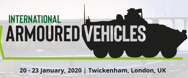 International Armoured Vehicles 2020, London, United Kingdom