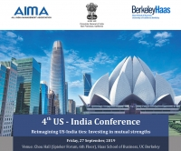 4th US-India Conference, 27 September 2019, UC Berkeley Campus   AIMA