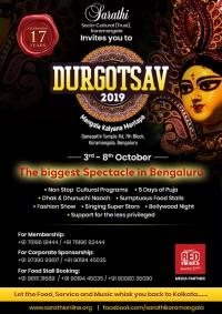 2019 Durga Puja Events and Celebrations in Bangalore - Sarathi Socio Cultural Trust
