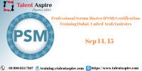 Professional Scrum Master (PSM) Certification Training Course in Dubai, United Arab Emirates
