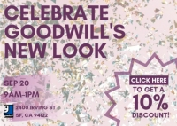 Celebrate Goodwill's New Look