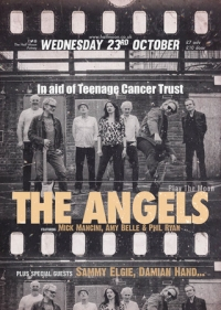 A Fundraising Gig for Teenage Cancer Trust with The Angels Weds 23rd Oct