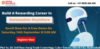 Attend Free Demo on Automation Anywhere-Gain Clear Insights To Career In RPA By Open Source Technologies On 14th Sep 2019 9:00 AM Hyderabad