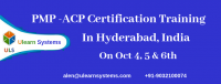 PMI-ACP Certification Training Courses in Hyderabad, India