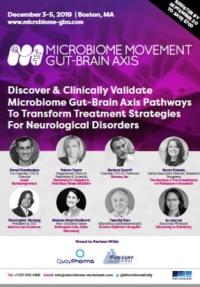 3rd Microbiome Movement - Gut-Brain Axis Summit - December, Boston