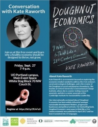Conversation with Kate Raworth: A healthy economy should thrive, not grow.