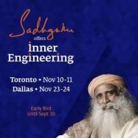 Inner Engineering with Sadhguru in Toronto on Nov 10-11