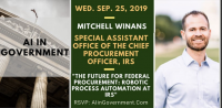 AI in Government Sept 2019 Event with Mitch Winans, IRS