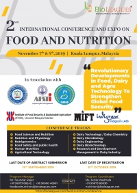 2nd International conference and expo on food & nutrition