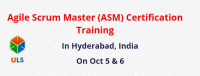 Agile Scrum Master Certification Training Hyderabad, India