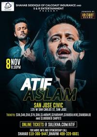 Atif Aslam Live Concert 2019 Bay Area