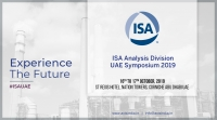 Participation of Axis India in ISA Analysis Division UAE Symposium 2019