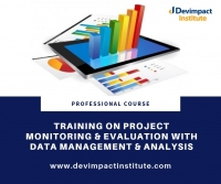 Training on Project Monitoring Evaluation with Data Management and Analysis