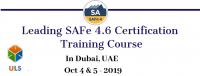 Leading SAFe 4.6 Certification Training in Dubai, United Arab Emirates
