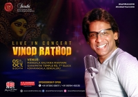 Vinod Rathod Live Concert @ Sarathi Durga Puja Events 2019