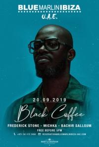 Black Coffee at Blue Marlin Ibiza UAE