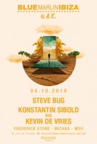 Steve Bug, Konstantin Sibold b2b Kevin de Vries at BMI UAE