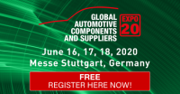 Global Automotive Components and Suppliers Expo 2020 - Stuttgart, Germany
