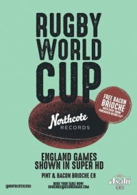 Rugby World Cup: England vs USA // Showing Live in Battersea