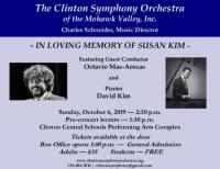 Clinton Symphony Orchestra Season Premiere