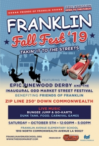 Franklin Avenue Fall Festival and Block Party and Zip Line