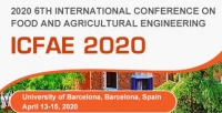 2020 6th International Conference on Food and Agricultural Engineering (ICFAE 2020)