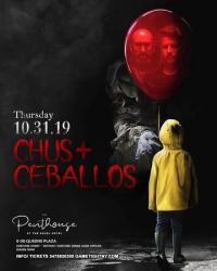 Chus Ceballos Halloween at Ravel Penthouse 808 2019