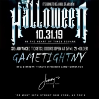 Jimmy's NYC Halloween party 2019 only $15