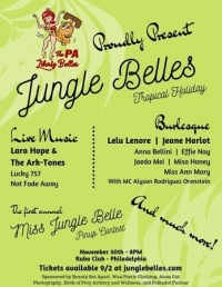 Jungle Belles Tropical Holiday with Lara Hope & The Ark-Tones and more!