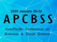Asia-Pacific Conference on Business & Social Science 2020