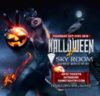 Skyroom NYC Halloween party 2019 only $15
