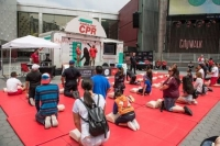 Hands-Only CPR Mobile Tour