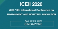2020 10th International Conference on Environment and Industrial Innovation (ICEII 2020)