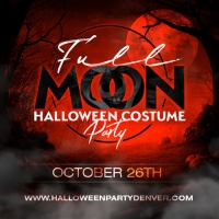 Full Moon Denver Halloween Costume Party - Open Bar