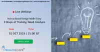[Webinar] Instructional Design Made Easy: 3 Steps of Training Need Analysis