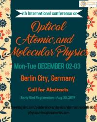 4th International conferecne  on Optical atomic molecular physics