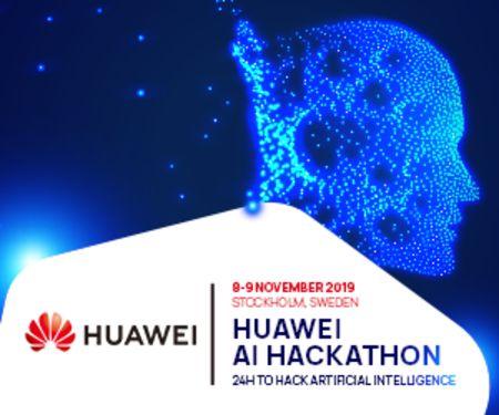 Huawei AI Hackathon, Norrmalm, Stockholm, Sweden