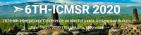 2020 6th International Conference on Mechatronics System and Robots (ICMSR 2020)